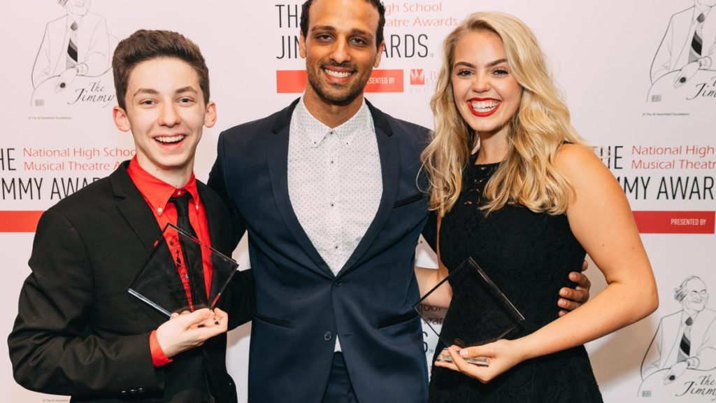 Jimmy Awards - Ari'el Stachel - Andrew Barth Feldman - Reneé Rapp - 6/18 - EMK