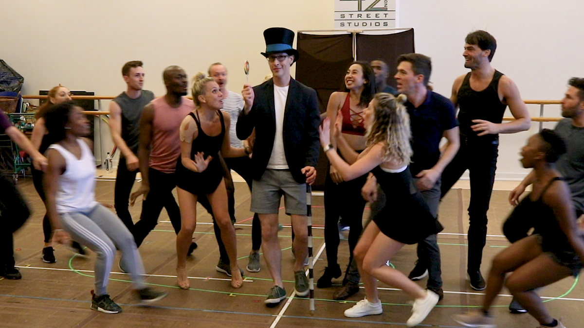Still - In Rehearsal - Charlie and the Chocolate Factory