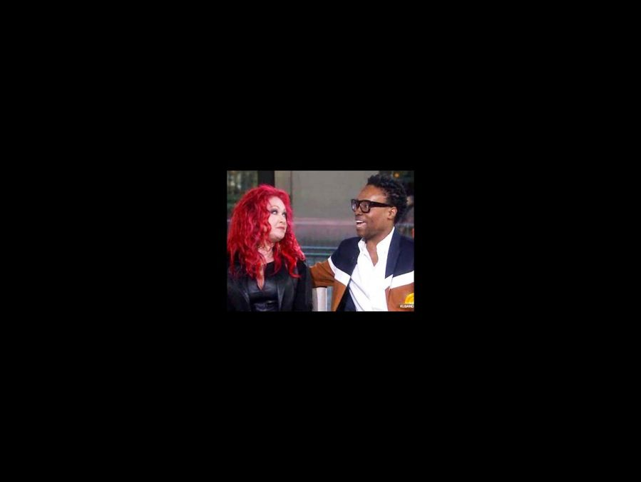Watch It - Cyndi Lauper - Billy Porter - Today - 4/14