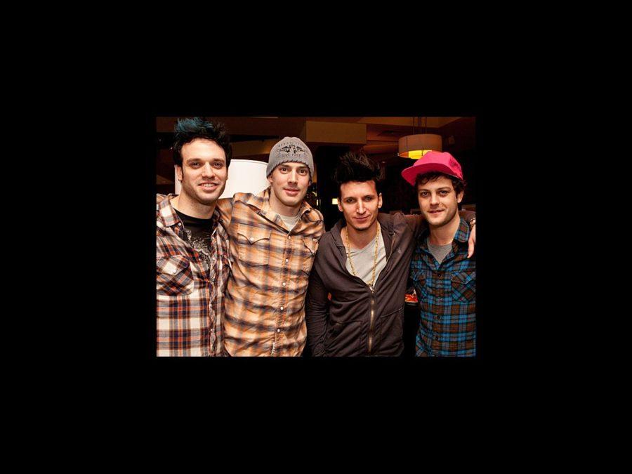 American Idiot Boston opening - Jake Epstein - Scott J. Campbell - Joshua Kobak - Van Hughes - wide - 1/12