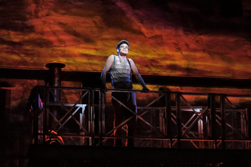 PS - Newsies - Jeremy Jordan - Photo: by Deen van Meer - 8/16