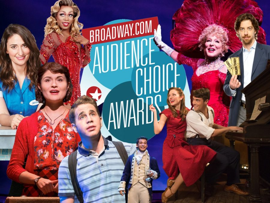 Broadway Audience Choice Awards - 2016-2017 season - Jeremy Daniel - Matthew Murphy - Joan Marcus - Jenny Anderson -  Julieta Cervantes
