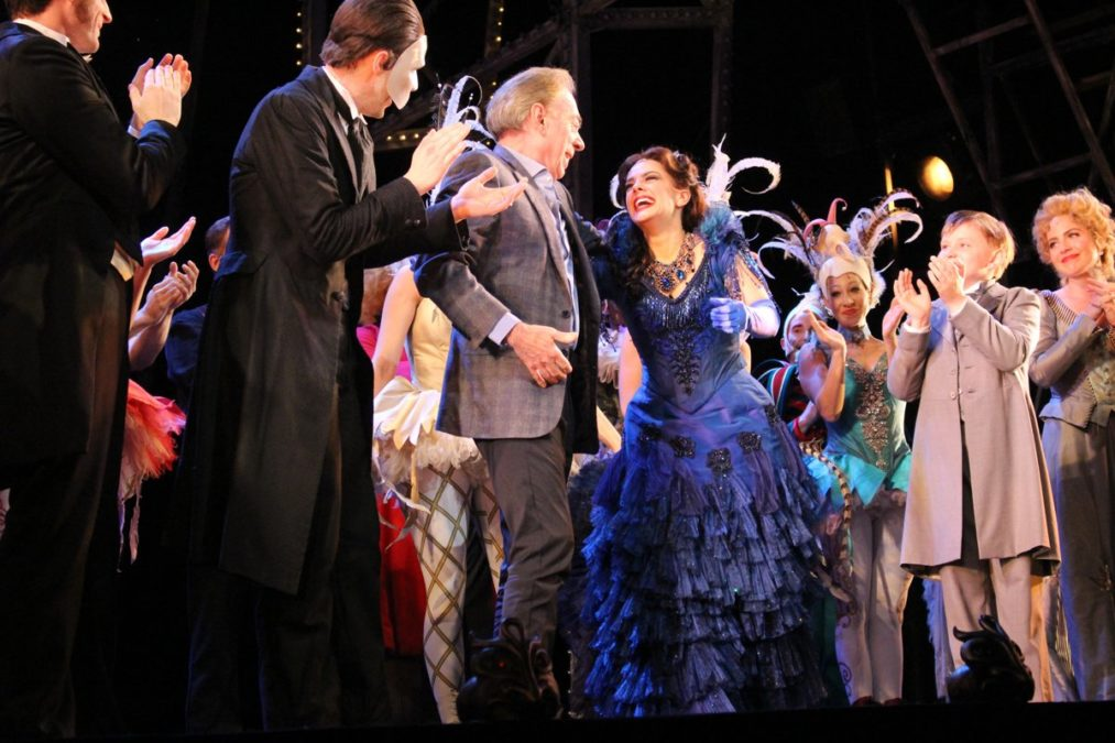 TOUR-Love Never Dies-Andrew Lloyd Webber and Cast-Photo by Justin Coffman
