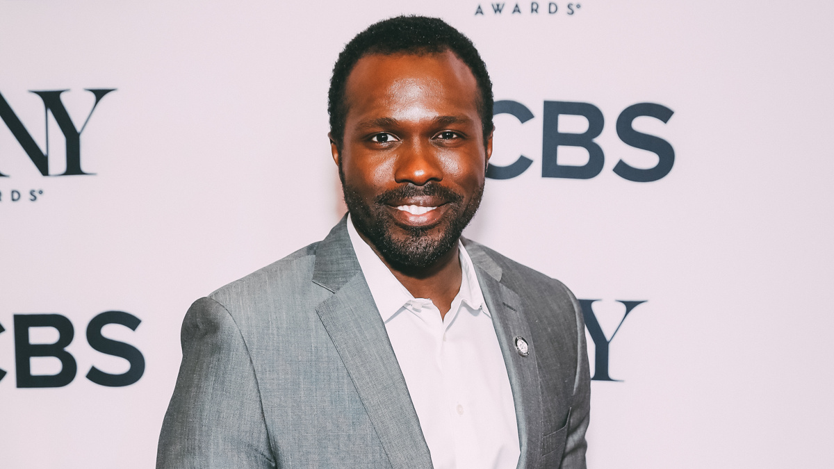 Meet the Nominees - Joshua Henry - Tony Awards - Press Junket - 5/18 - Emilio Madrid-Kuser