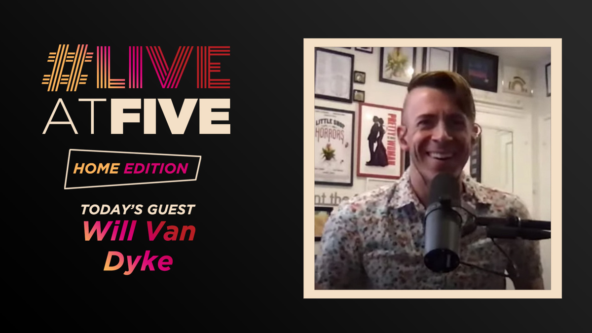 Live at Five - Will Van Dyke - 4.3 - 9/20