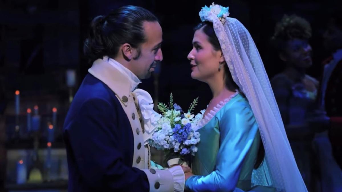 Lin-Manuel Miranda - Phillipa Soo - 1/21 - Hamilton on Disney+