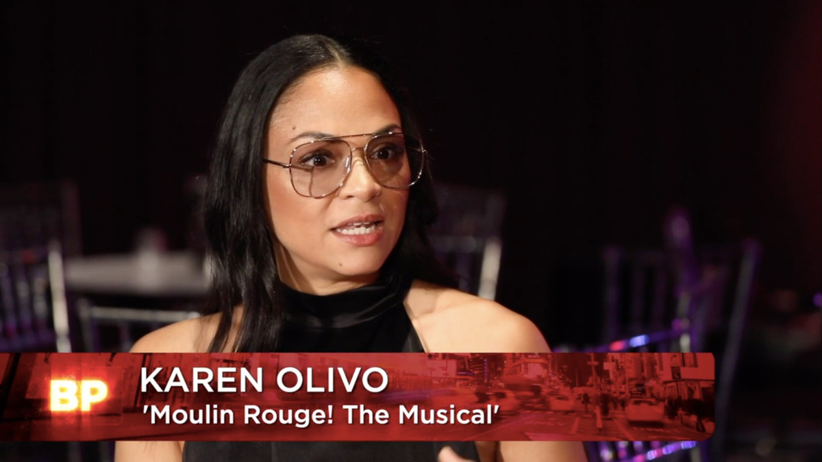 WI - Karen Olivo - Broadway Profiles with Tamsen Fadal - 1/21